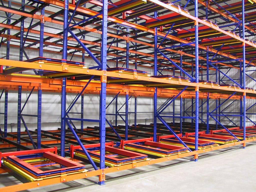 Push Back Racks  Manufacturers in Ahmedabad